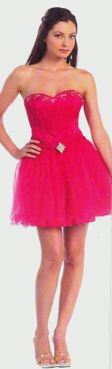 Prom  Dress under $100  8063 Corset Short!