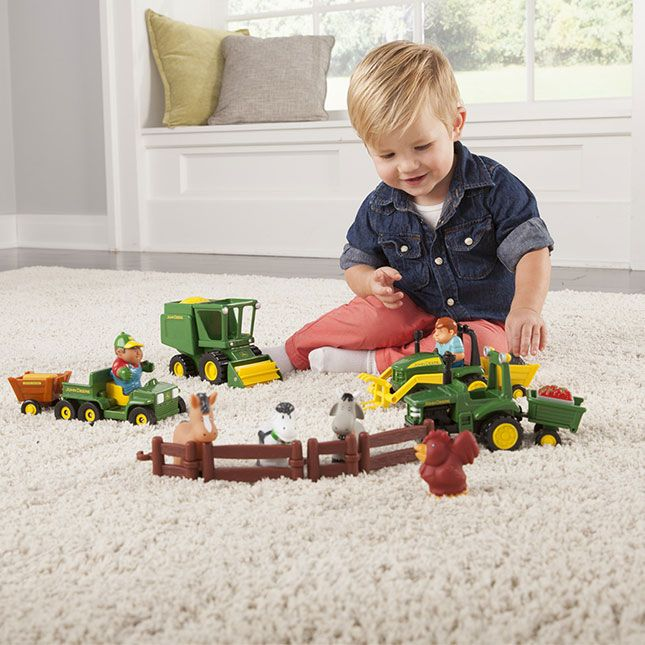 John Deere Preschool Fun On The Farm Playset - Best for Ages 1 to 2
