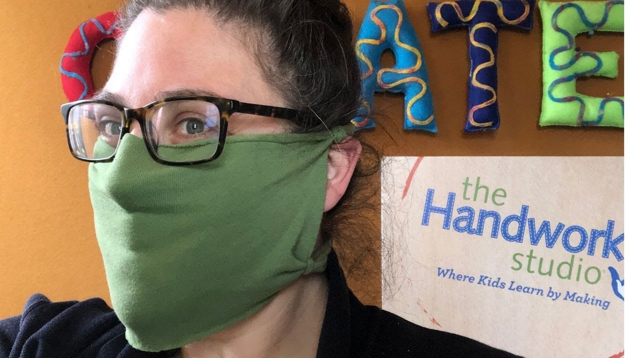 Photo of Easy DIY No Sew T-Shirt Face Mask