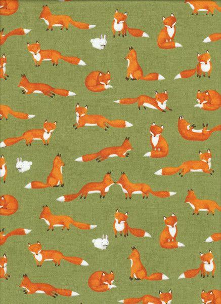 FUCHS Stoff Nr. 150622 von Quilt Shop Ruth Baudisch auf DaWanda.com ...