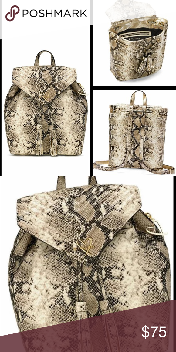 8903505636ea8 Victoria's Secret Snake Backpack NWT Brand new with tags Victoria's ...