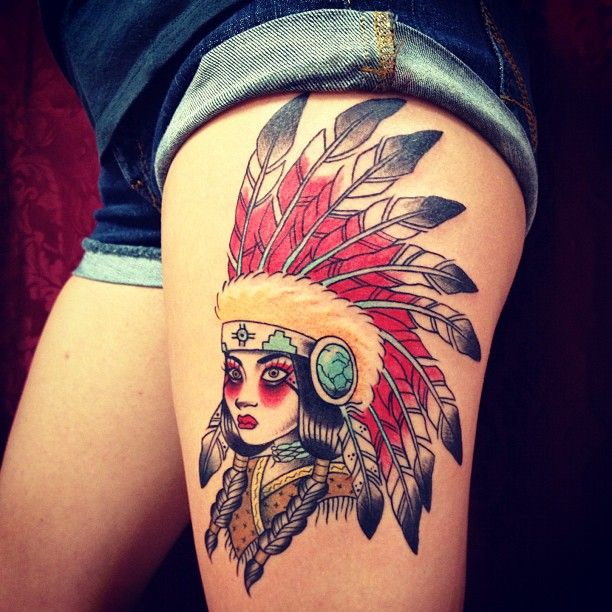 best tattoo just ever colors placement it s an indian