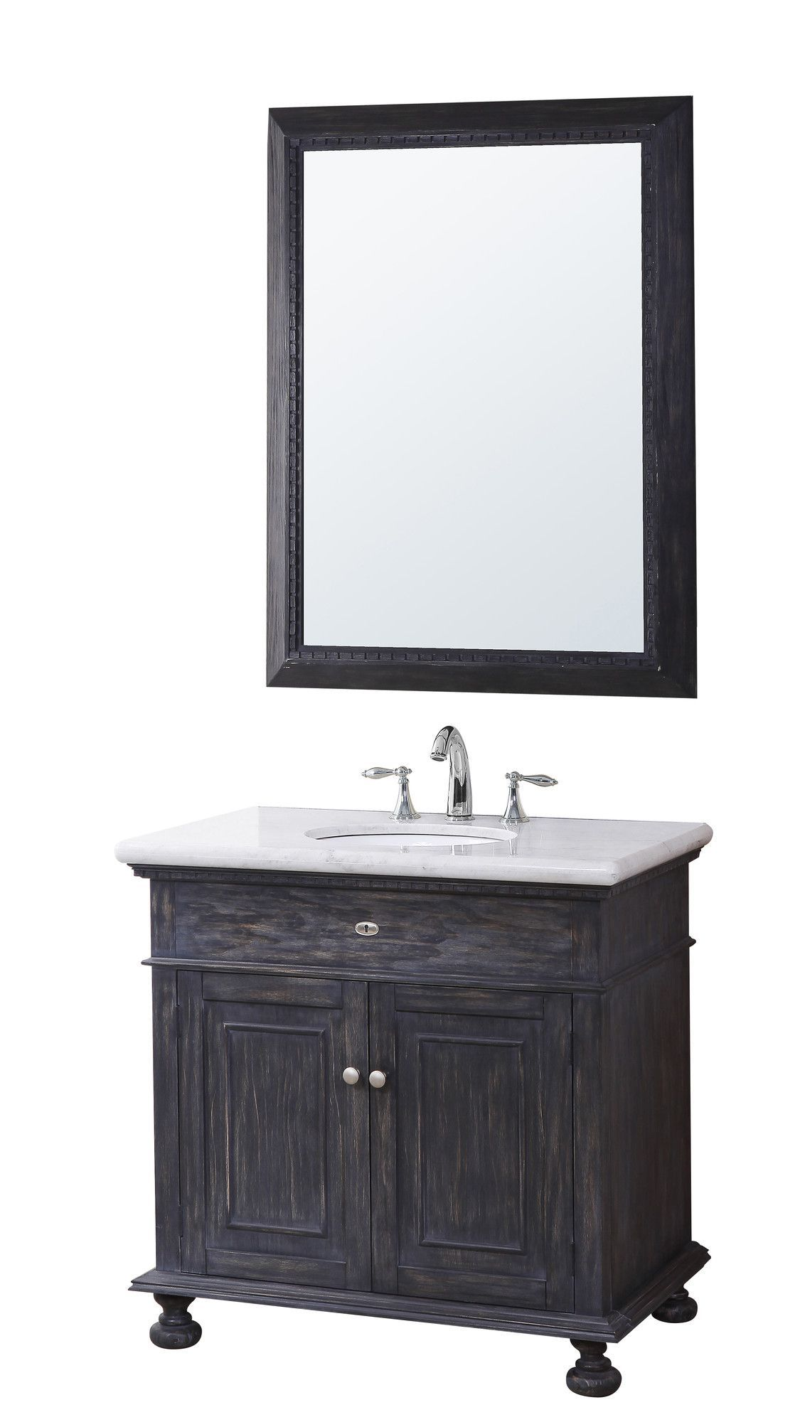 Lincoln 35 Bathroom Vanity Set With Mirror Products Pinterest