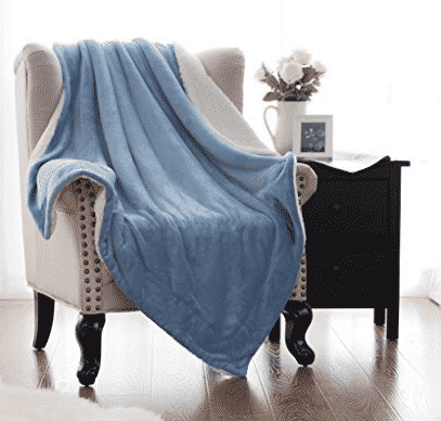 Throw Blankets For Couches Mesmerizing Top 10 Best Sherpa Throw Blankets In 2018  Buyer's Guide July Decorating Design