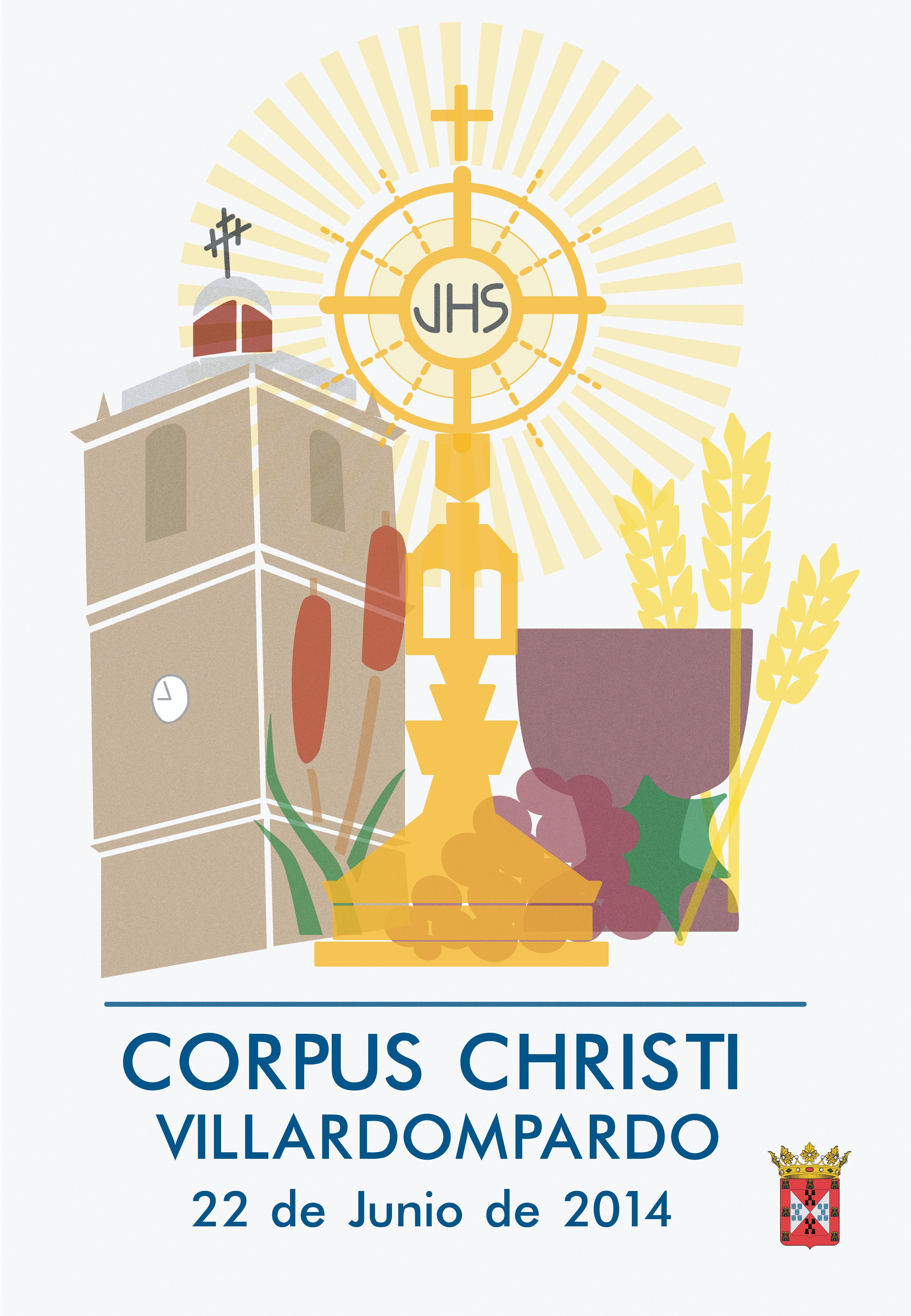 Concurso de carteles Corpus Christi Villardompardo, Junio 2014