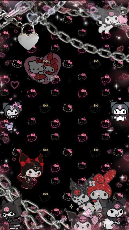 Hello Kitty Aesthetic Background : hello, kitty, aesthetic, background, Patty, картинки, Hello, Kitty, Iphone, Wallpaper,, Wallpaper