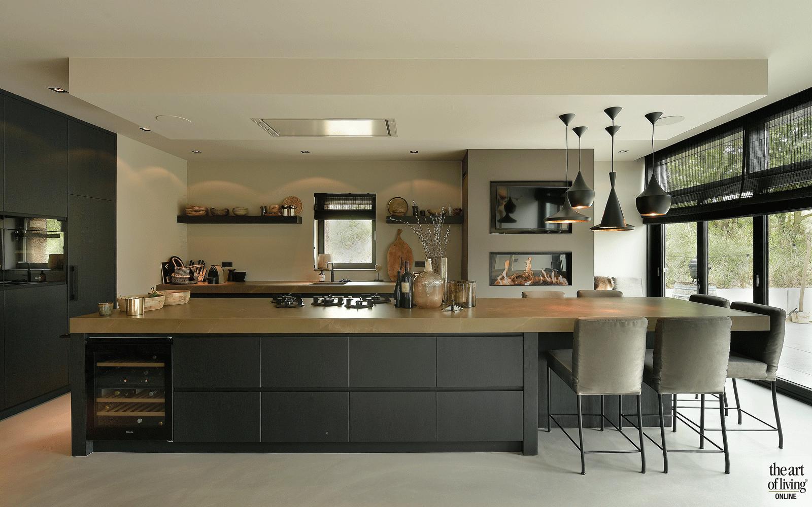 Moderne villa huisinrichting pinterest kitchens