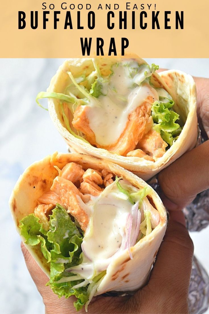 Buffalo Chicken Wrap images