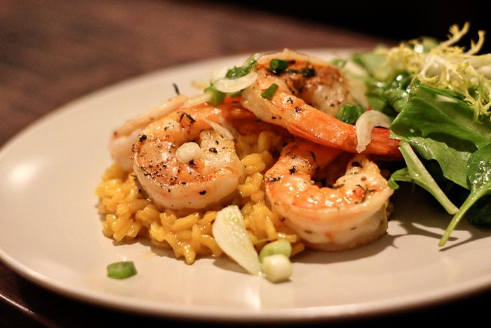 30-Minute Shrimp and Saffon Rice with Fennel Salad  (I got some Saffron as a gift and I want to use it well!)