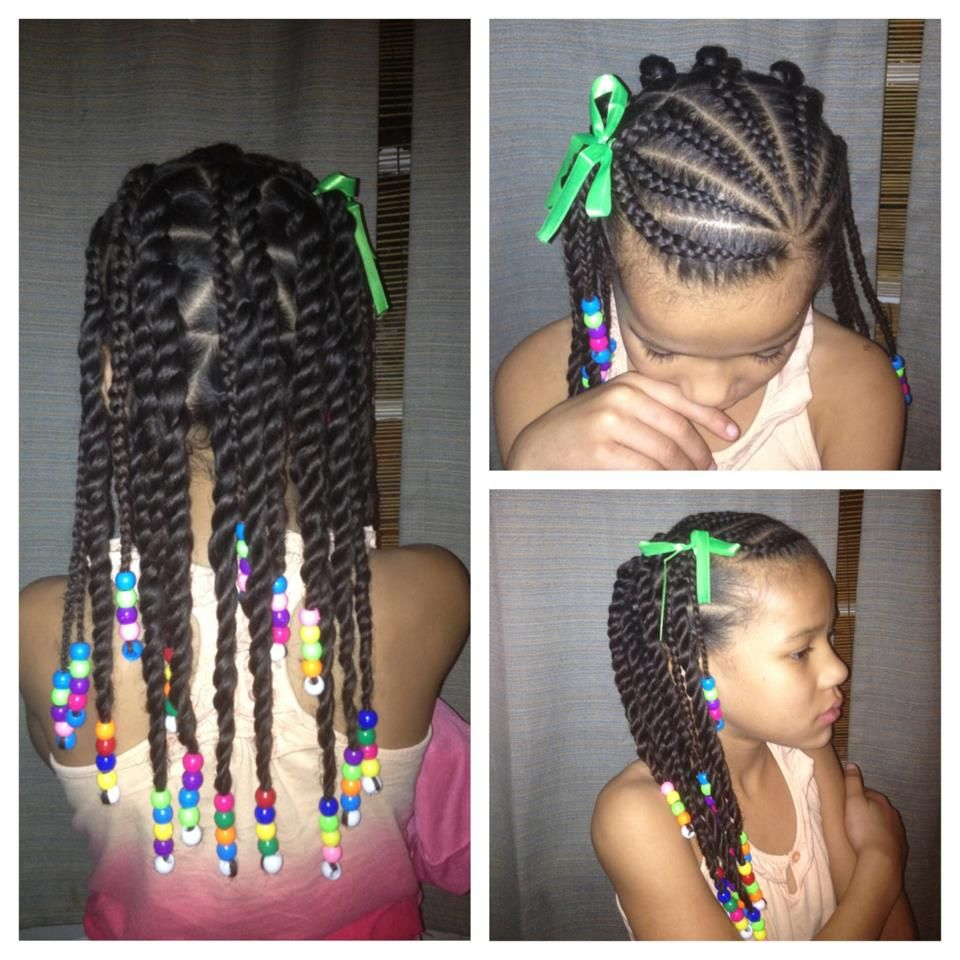 14 super cute and creative corn row styles for your little girl