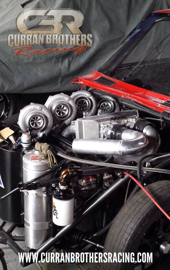 Mazda RX2 with a Quad-turbo Four-rotor Engine | engines | Engine