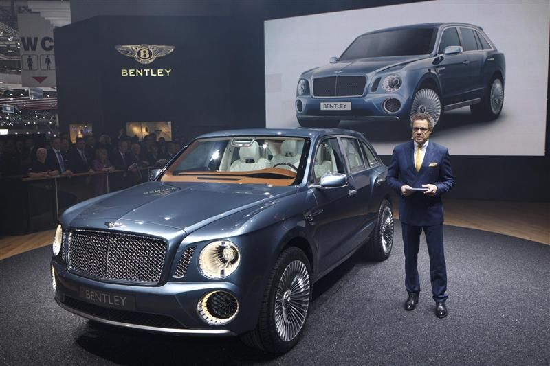 2012 Bentley EXP 9 F Concept Image | BENTLEY | Pinterest