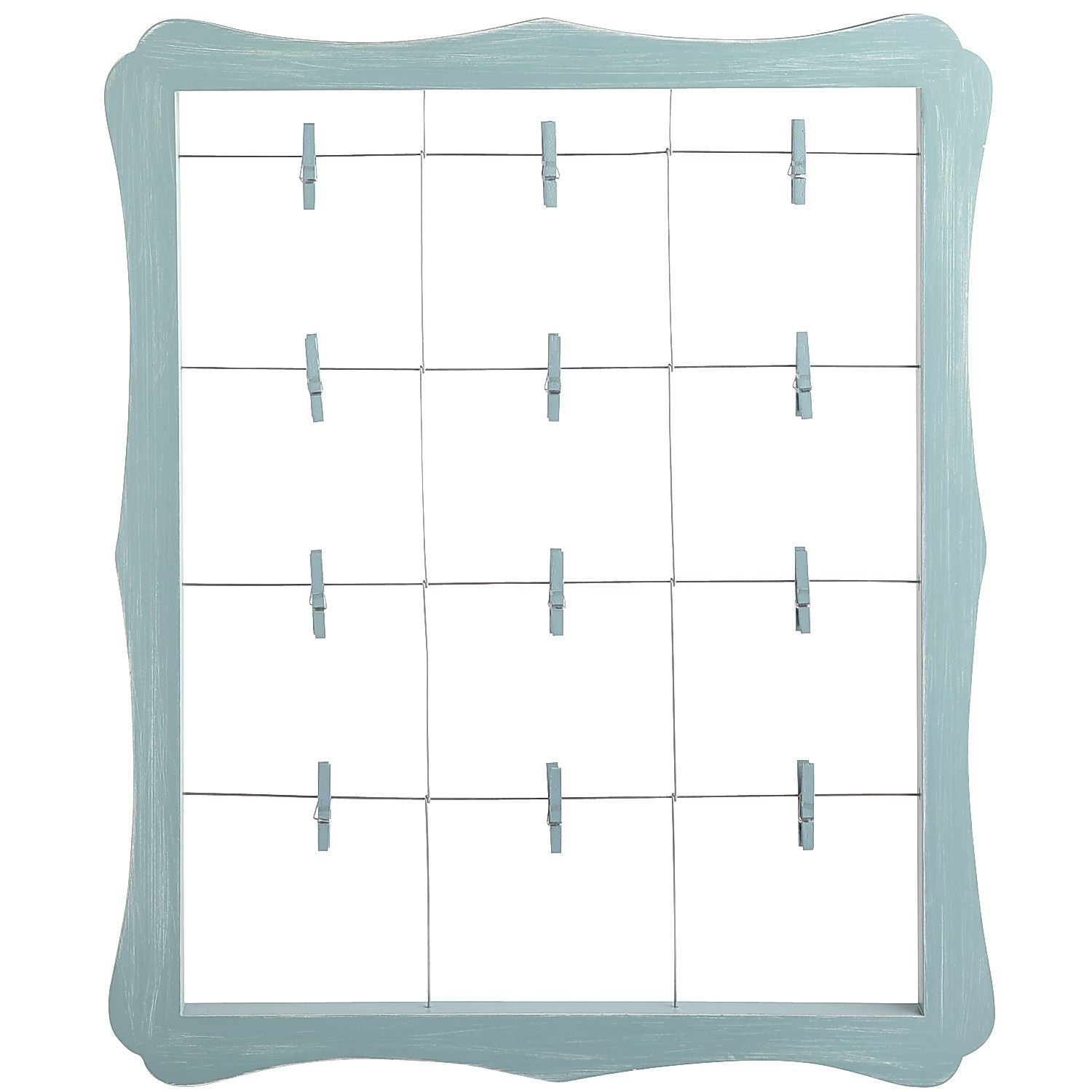 Scalloped Window Clip Frame - Blue | Stuff to buy | Pinterest ...