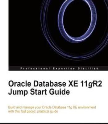 Oracle Database Xe 11gr2 Jump Start Guide PDF Software Pinterest