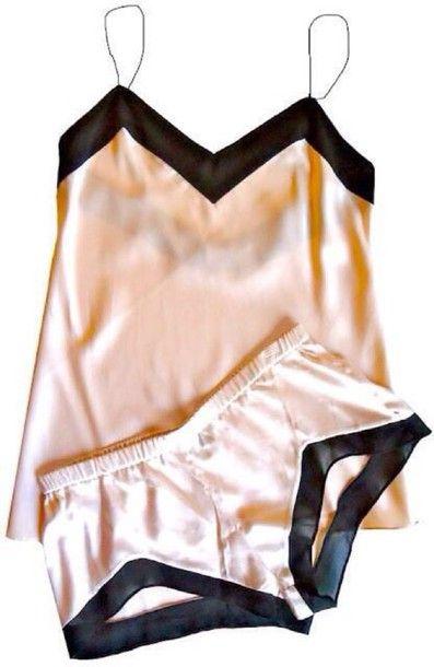 bf1fb4cfd pajamas silk pijamas blair waldorf tank top shorts