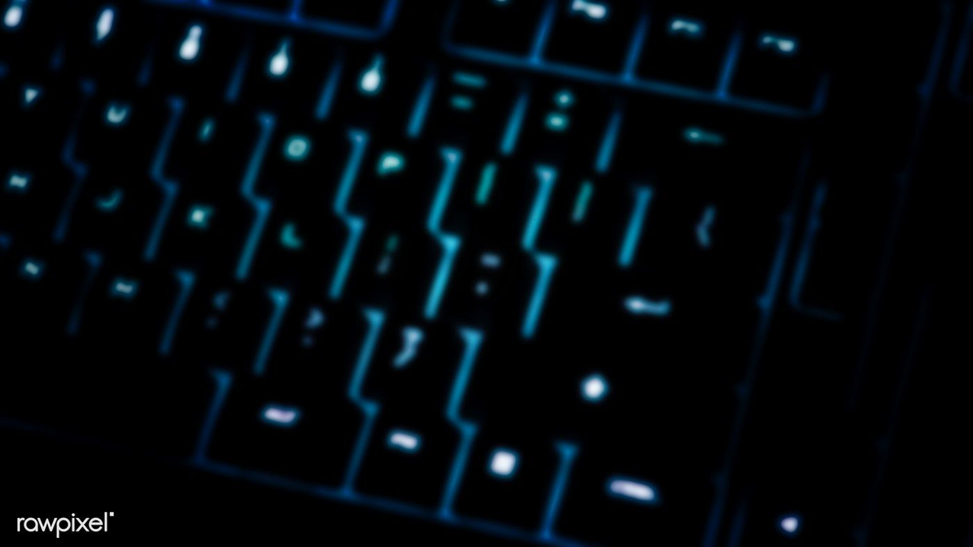 Download Premium Image Of Closeup Of A Blurry Black Computer Keyboard Computer Keyboard Keyboard Computer