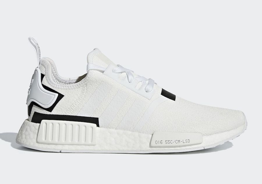 best loved 8ebca e7fda adidas NMD R1 White Black BD7741