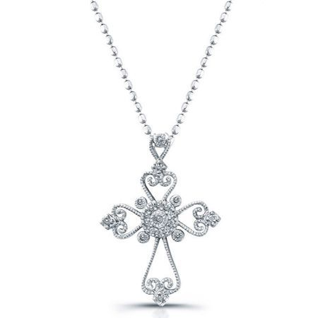Diamond cross necklaces women necklace pinterest diamond cross diamond cross necklaces women aloadofball Image collections