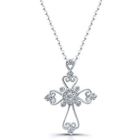 diamond cross necklaces women necklace pinterest