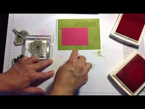 Learn about Two Step Stamping from Kerry Willard Bray, independent Stampin' Up! demonstrator