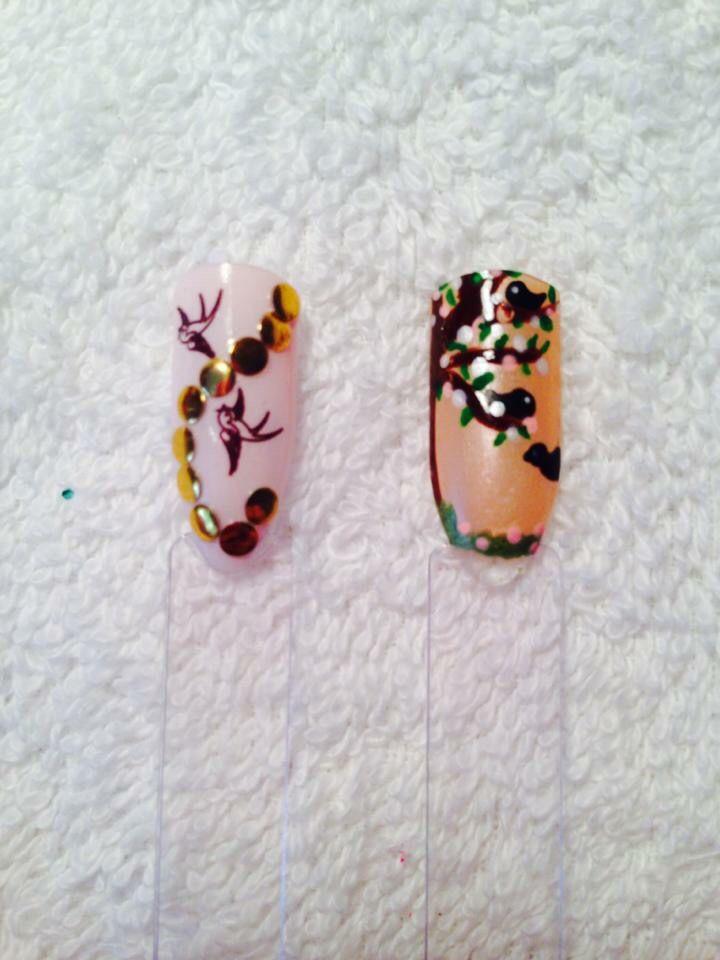 Bird Nail Art | Bird nail art, Nail art, Nails