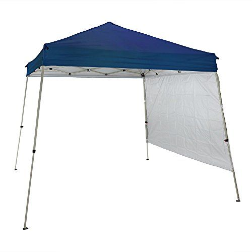 Sunnydaze QuickUp 8 Foot x 8 Foot Slant Leg Canopy and Half Sidewall Set with Carrying  sc 1 st  Pinterest : 8 foot canopy - memphite.com