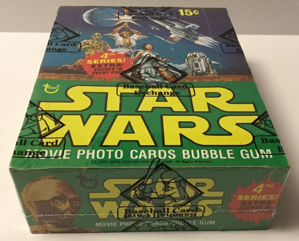 1977 star wars cards stickers