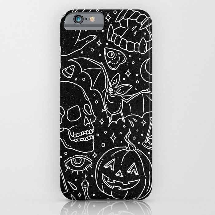 Halloween Horrors iPhone & iPod Case