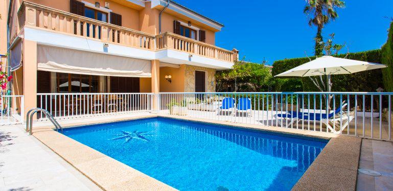 Villa Hereu Cala Millor Im Osten Von Mallorca Fur 8 Personen Zu