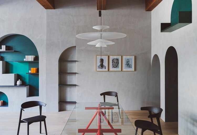 Renovated Apartment Looks Fresh With Plenty Of Arches And Green