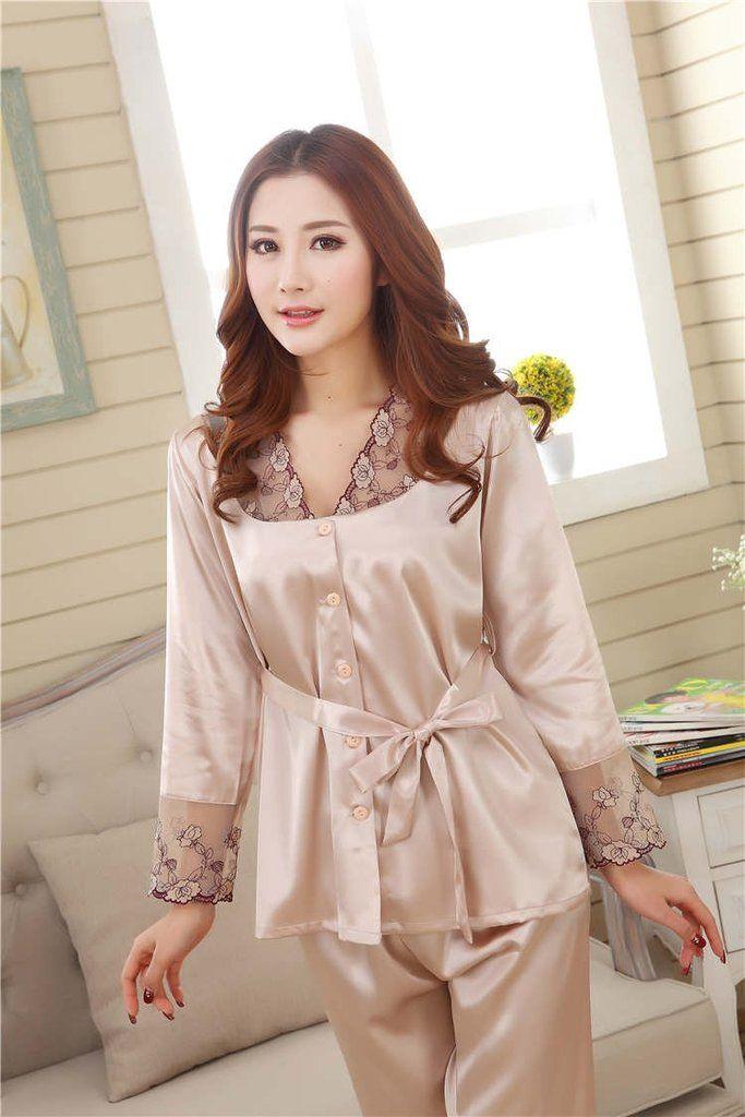 New Women White Cotton Lace Half Sleeve Long loose Top Ladies PJ/'s Nightwear