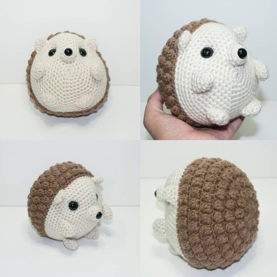 Harry the hedgehog by Heartstringcrochet