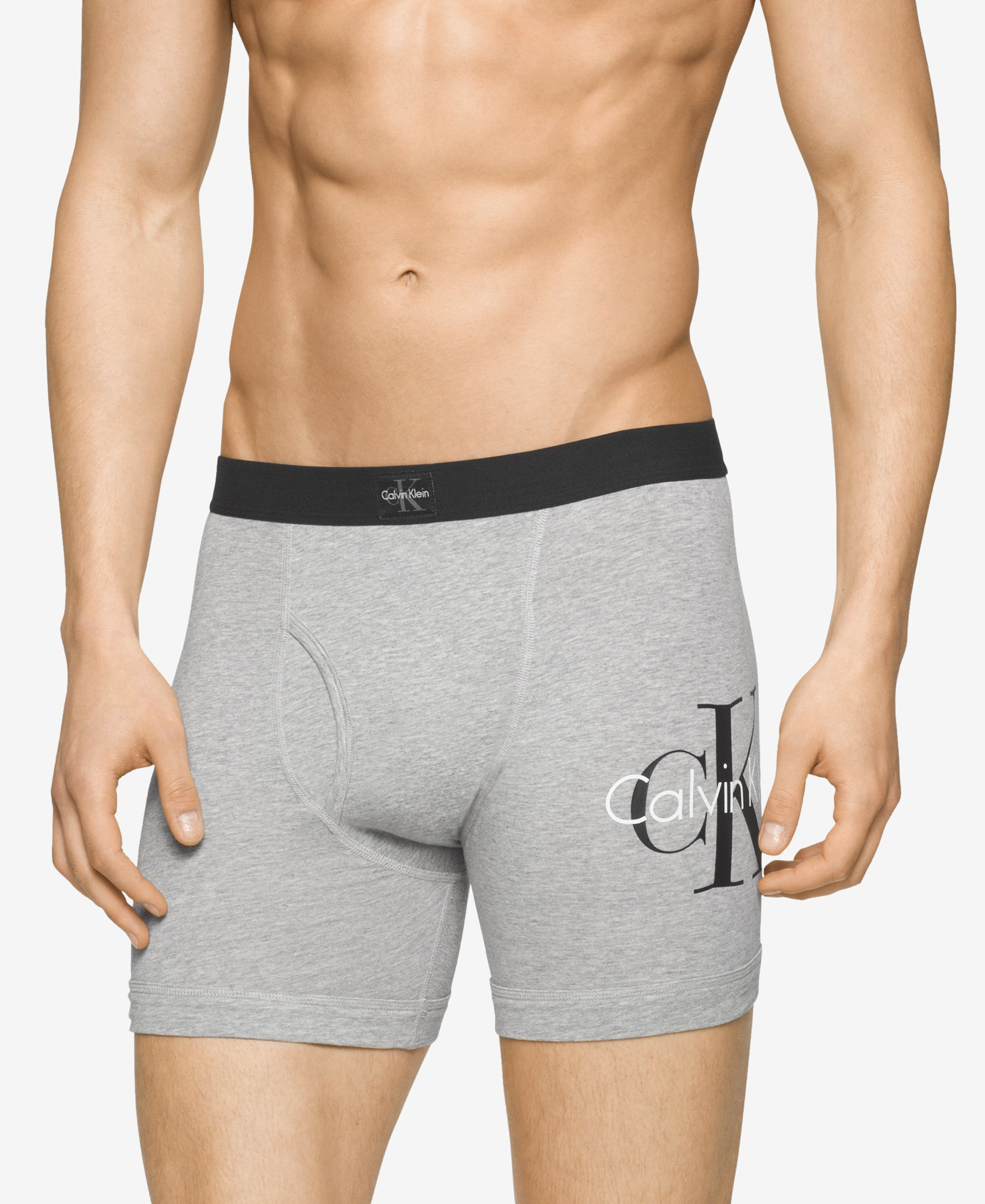A basic takes on signature style in these Ck Origins boxer briefs from Calvin  Klein a6808511f4