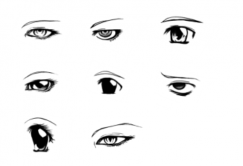 How To Draw Different Manga Eyes Step By Step Anime Eyes Anime Draw Japanese Anime Draw Manga Free Online Drawing Tutorial Manga Eyes Anime Eyes Drawings