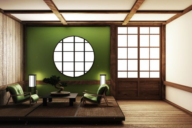 Zen Style Room Design 3d Rendering In 2020 Zen Interiors