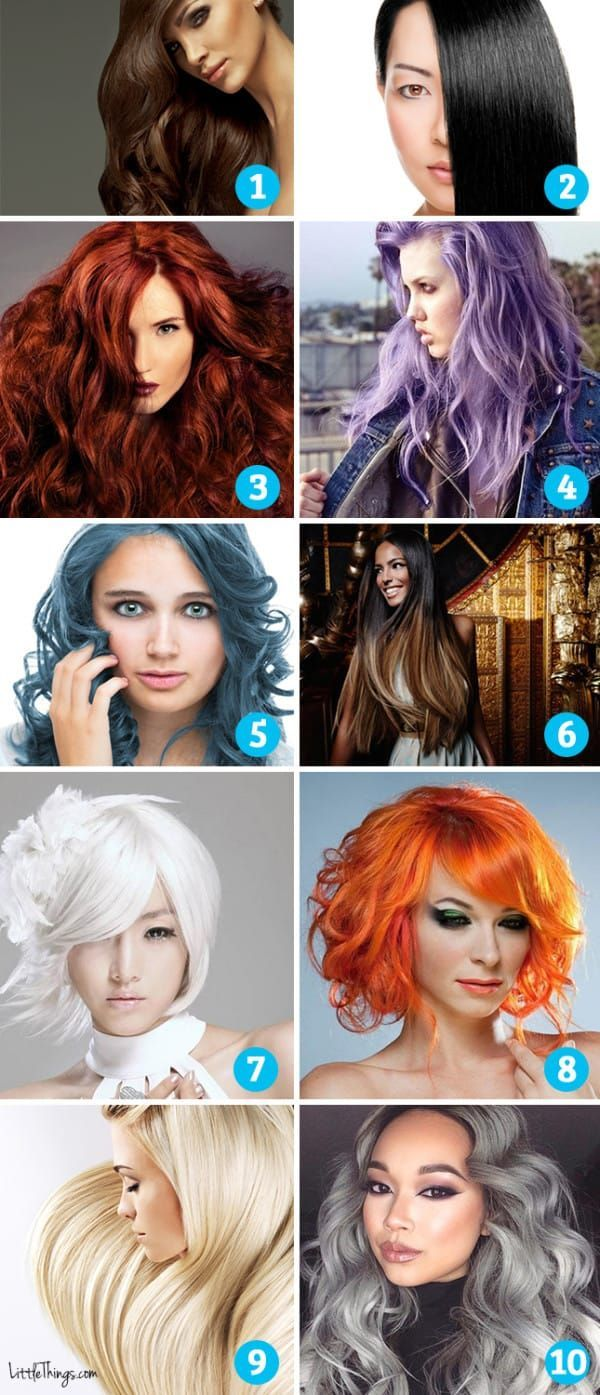 What The Hair Color You Choose Says About You Hair Color Quiz Which Hair Colour Bold Hair Color