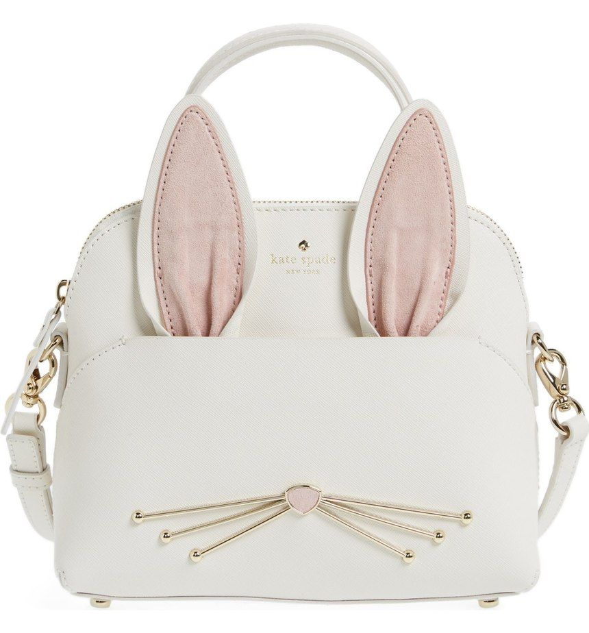 Absolutely adoring this Kate Spade crossbody bag in the shape of a cute  rabbit that will instantly add a whimsical touch to any ensemble. 44b840b8fd