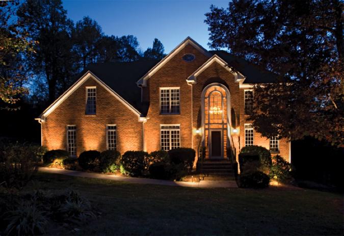 home exterior house lights home