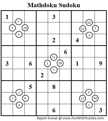 Mathdoku Sudoku Daily Sudoku League 84 Sudoku Sudoku Puzzles How To Apply