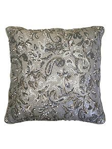 Alexa Silver Direct Co-ordinate Cushion