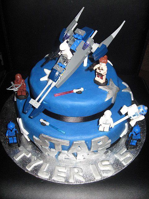 Super Lego Star Wars Cake | Nolan- Birthday Ideas | Pinterest | Star  DS42