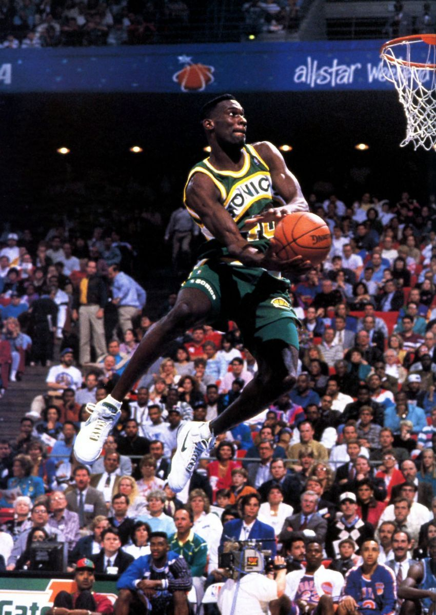 A look back at the Reignman's sneakers worn for each of his four NBA Slam  Dunk Contests.