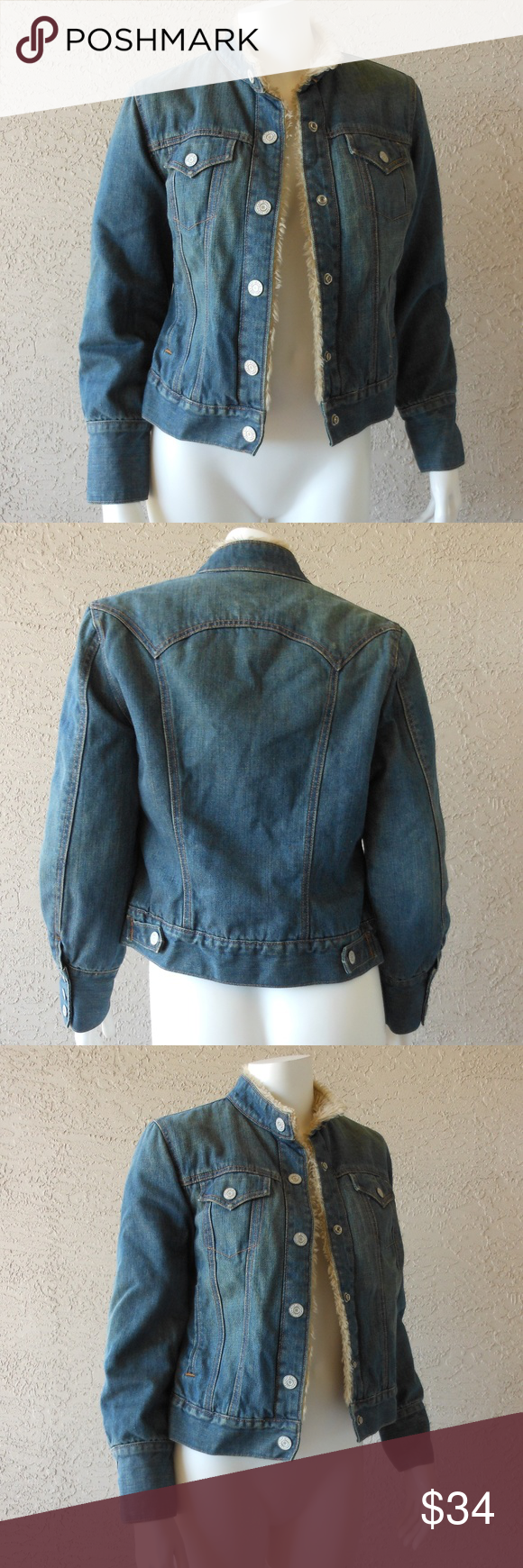 Sherpa Lined Denim Jacket Insulated Sleeves Denim Jacket Sherpa Lined Denim Jacket Sherpa Lined [ 1740 x 580 Pixel ]