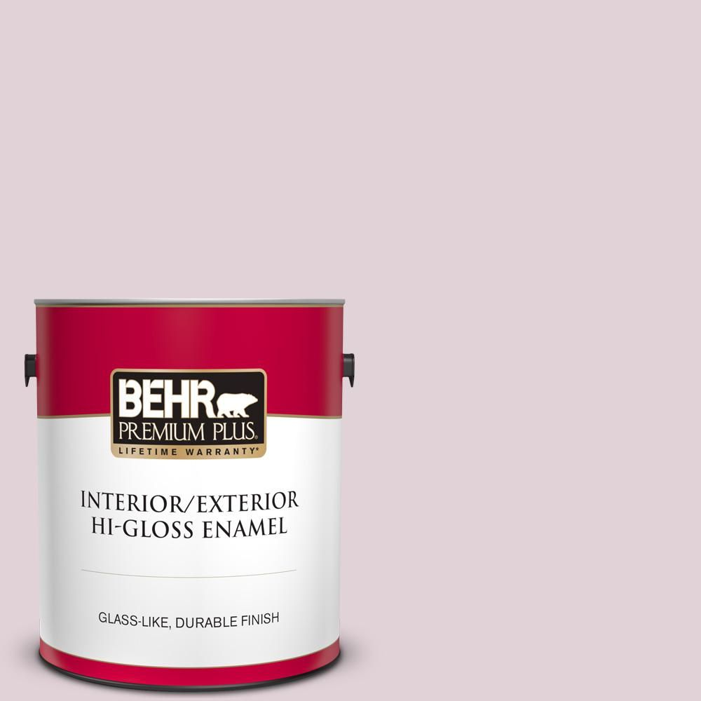 Behr Premium Plus 1 Gal T15 7 Secret Blush Hi Gloss Enamel Interior Exterior Paint Interior Paint Behr Exterior Paint