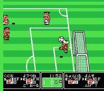 Kunio kun soccer. Sega genesis.
