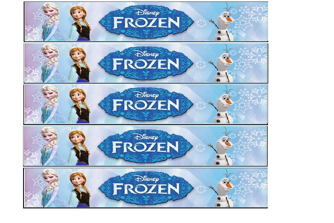 Free Printable Frozen Bottle Labels Frozen Printables Free Disney Frozen Birthday Party