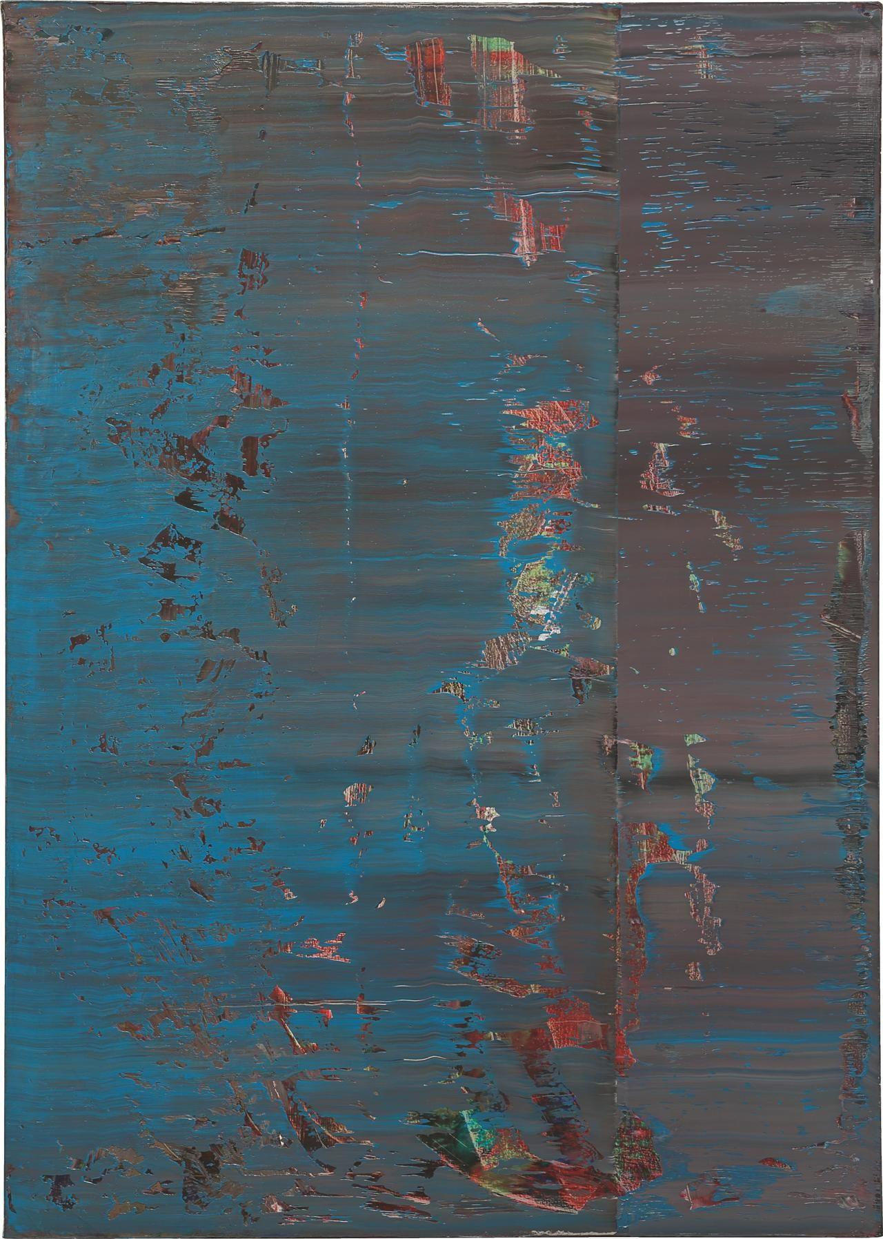 Customized ▲ ✕ Gerhard RichterAbstraktes Bild 638-4, 1987Oil on canvas48 x 341/4 in.