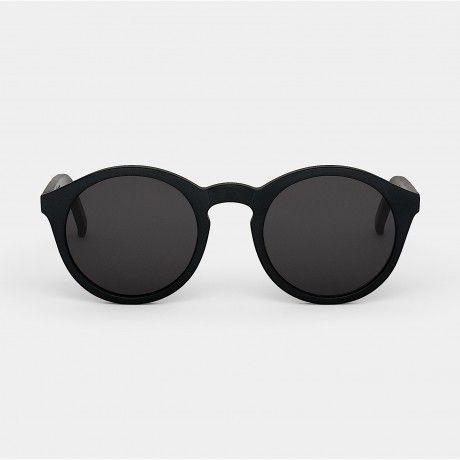 Monokel Sunglasses Barstow Matte Black, Restored