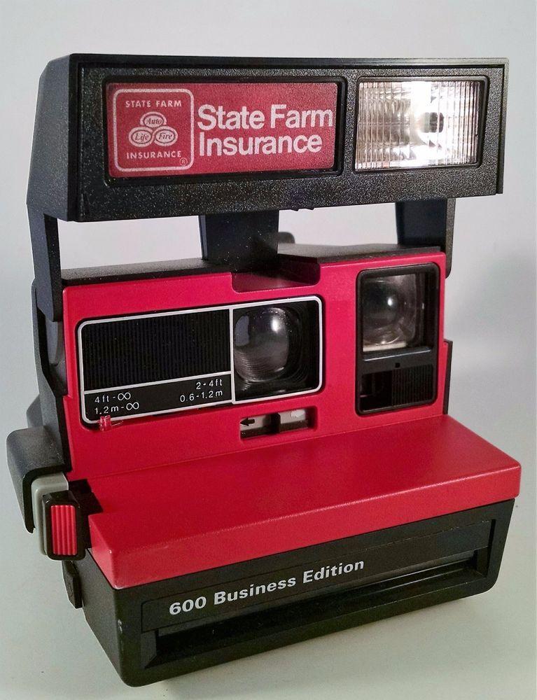 Polaroid 600 Business Edition State Farm Insurance Promo