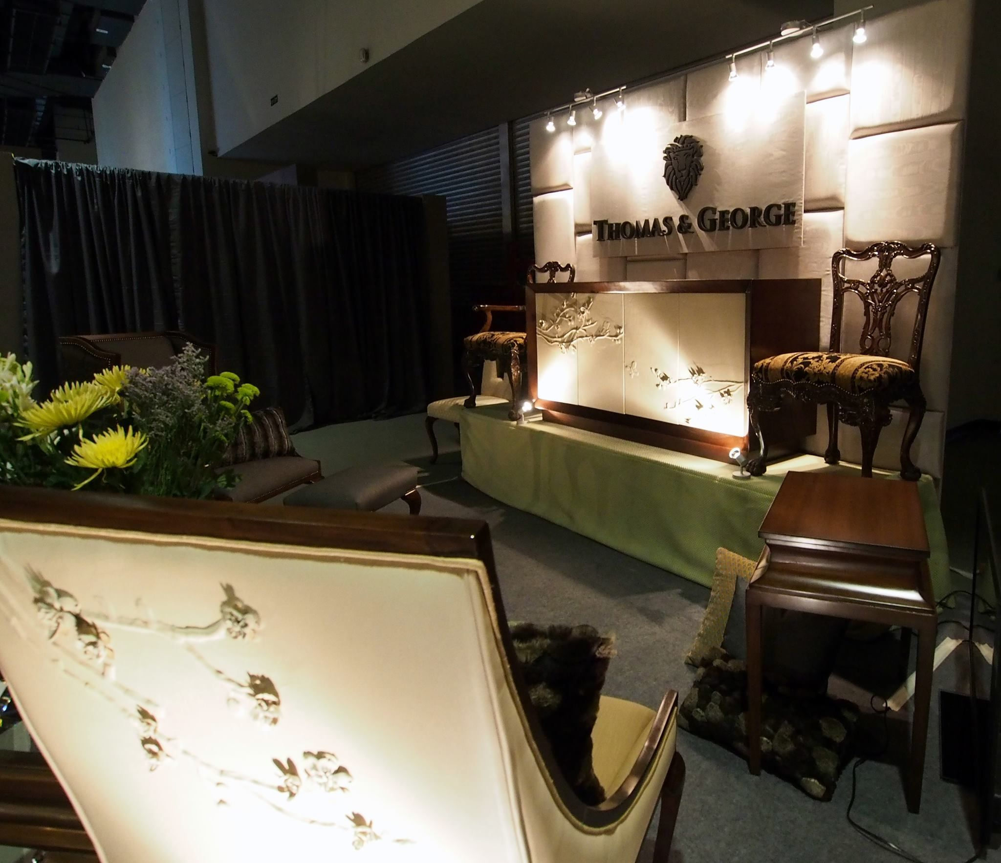 Exhibit Booth Of Thomas And George Artisan Furniture Philippine